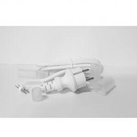 Cable alimentación manguera led 2 hilos