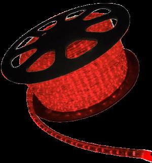 Manguera led rojo 50mts