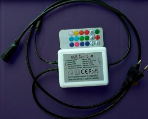 Controlador guirnalda led RGB con mando