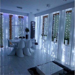 Cortina led blanco 2X3m