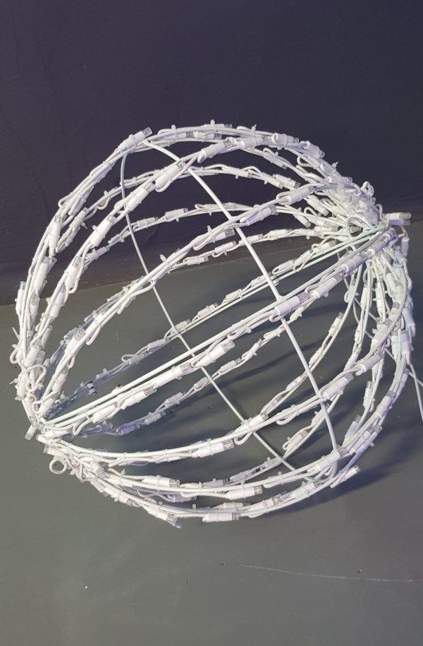 Bola Led 3D Luz Cálida 50cm Plegable