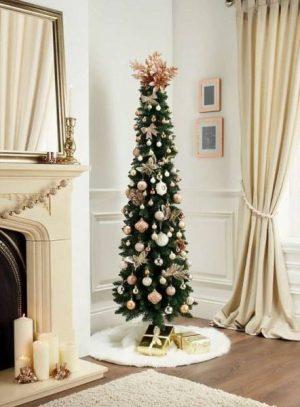 Árbol de Navidad estrecho Slim Lápiz 2,10m